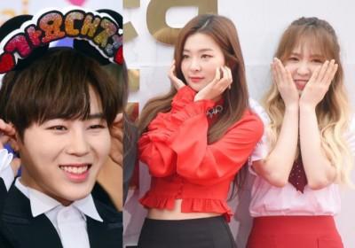 Seolhyun,wendy,seulgi,sungwoon