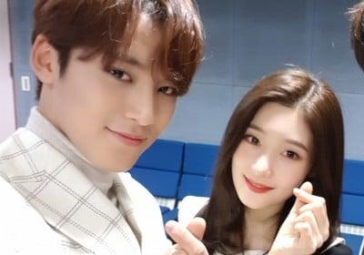 Seventeen,mingyu,dia,jung-chae-yeon