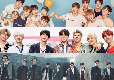 EXO,bts,wanna-one