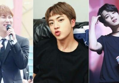 Youngjae,Eunkwang,jin,jin,jin