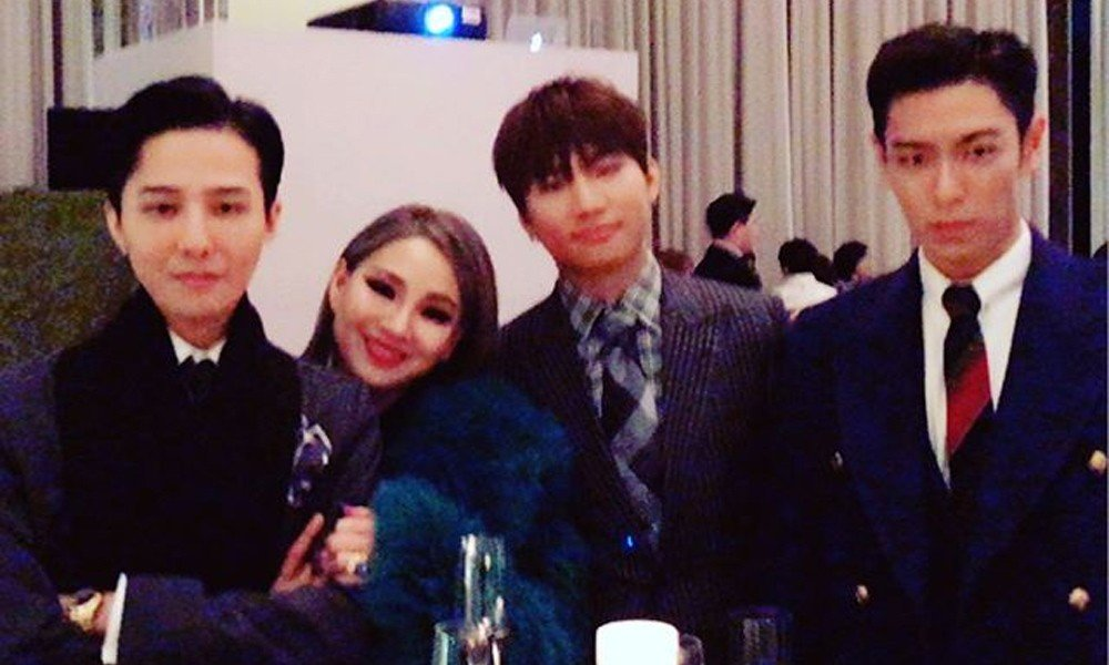 CL,TOP,G-Dragon,Daesung