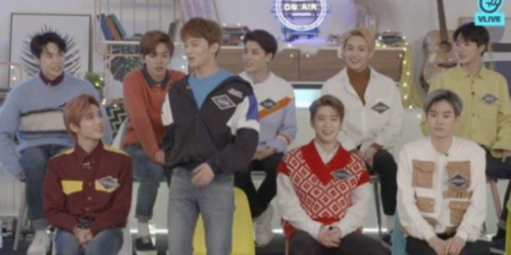 NCT set a new record for most 'V' app hearts on a live broadcast