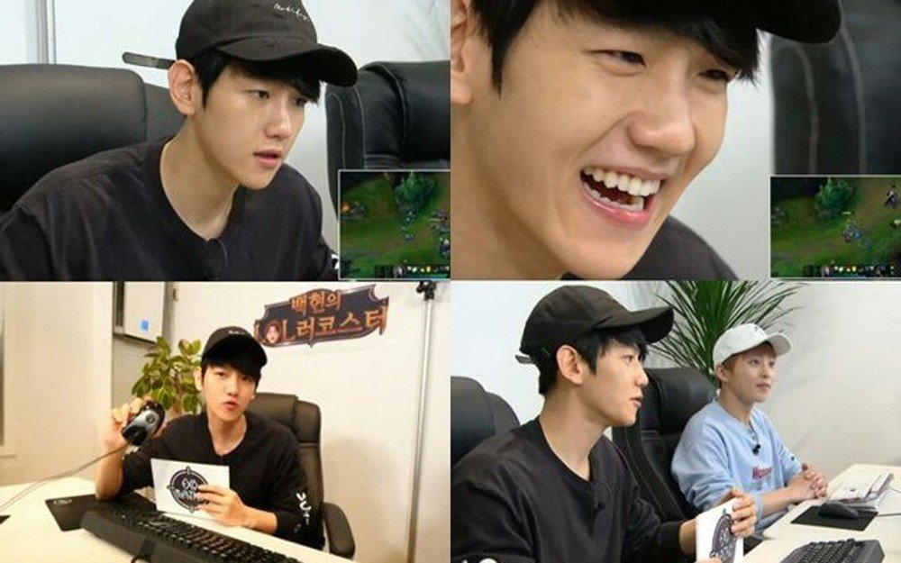 Hayoung, Gongchan, Jaehyo, Baekhyun, Hyesung, Heechul, Niel, Hongbin, Jung Joon Young