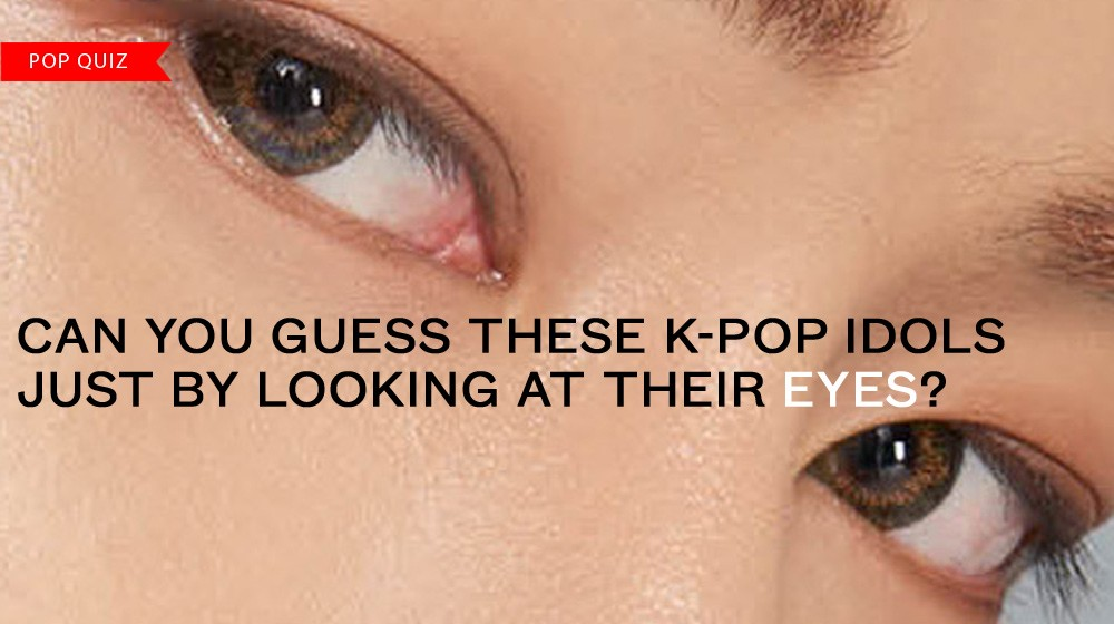 POP QUIZ] Can you guess these K-Pop idols just by looking at their