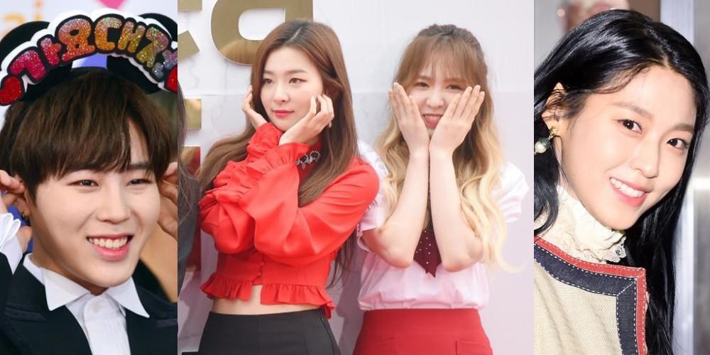Seolhyun, Wendy, Seulgi, Sungwoon