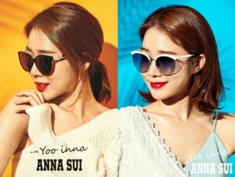 Actress Yoo In Na becomes the face of Anna Sui sunglasses