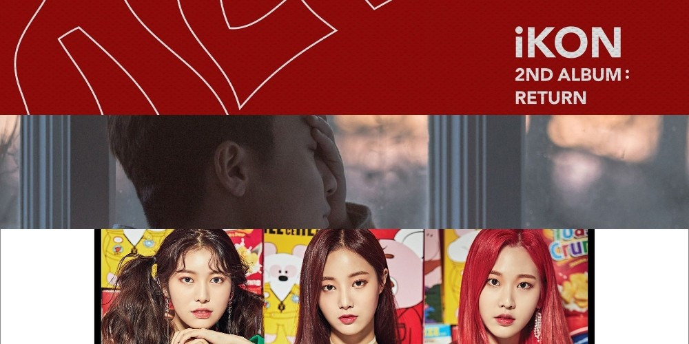 Roy Kim, Sunmi, Red Velvet, iKON, Jung Seung Hwan, Momoland, Kim Chung Ha, Melomance