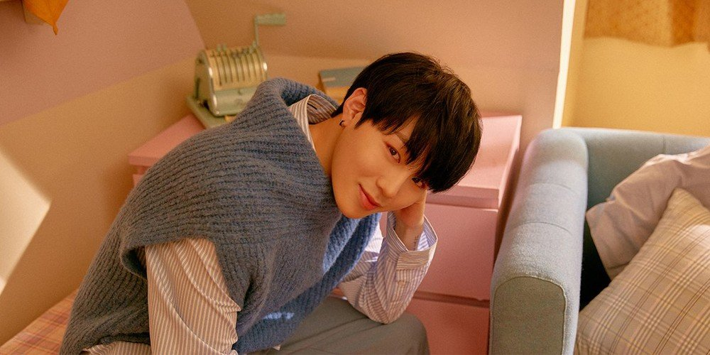 Wanna One Share Cozy Individual Teaser Images Of Minhyun Sungwoon