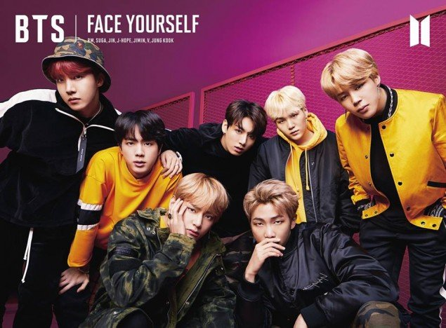 Bts release album jacket photos for their 3rd japanese album face face yourself will be coming out on april 4 solutioingenieria Choice Image