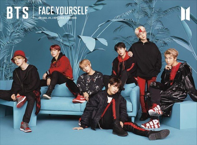 Bts release album jacket photos for their 3rd japanese album face face yourself will be coming out on april 4 solutioingenieria Gallery