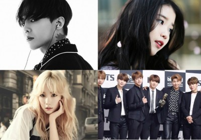 Big-Bang,G-Dragon,Taeyeon,IU,bts,park-hyo-shin,twice