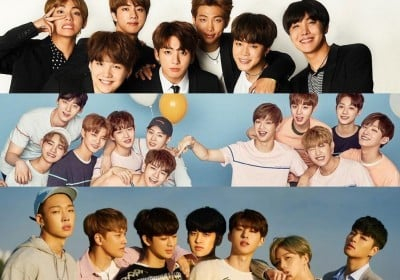 bts,ikon,wanna-one