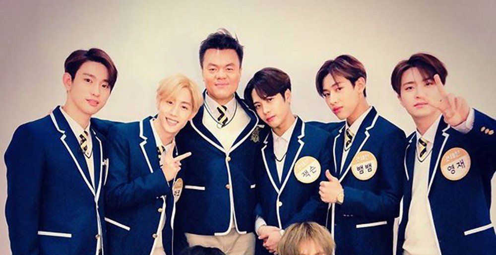Jy park and got7 members transform into bright students for jy park and got7 members transform into bright students for knowing brothers stopboris Image collections