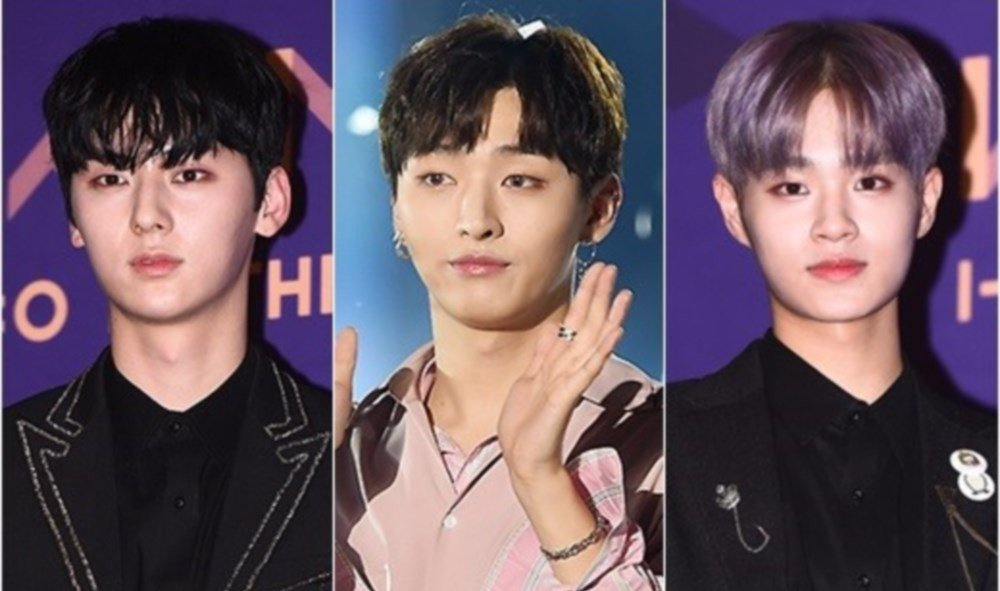 wanna-one,yoon-ji-sung,lee-dae-hwi,hwang-min-hyun