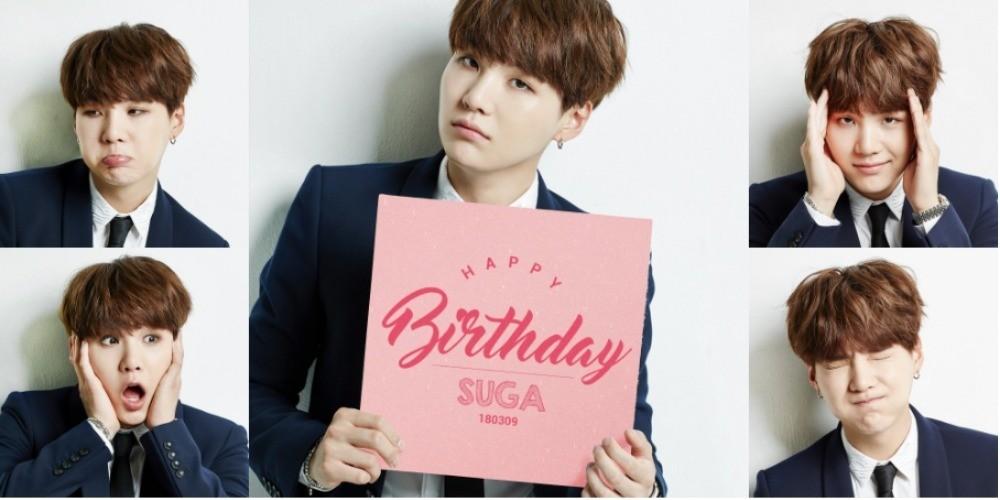 Bts Suga Birthday