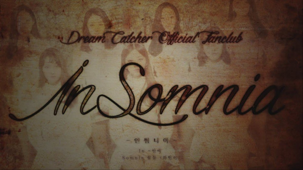 Dream Catcher Announce Official Fan Club Name 'Insomnia' In New Dream Catcher With Names