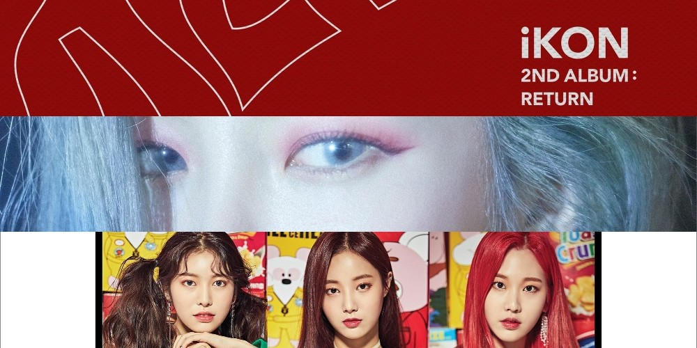 Roy Kim, Gaeko, MAMAMOO, Red Velvet, iKON, Heize, Momoland, Kim Chung Ha, Wanna One