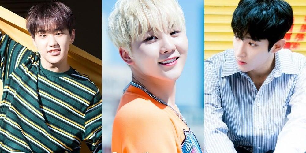 Seventeen, DK, Seungkwan, Hoshi