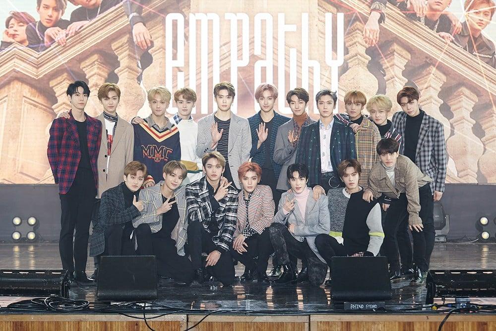 NCT 2018 EMPATHY' tops domestic and international album