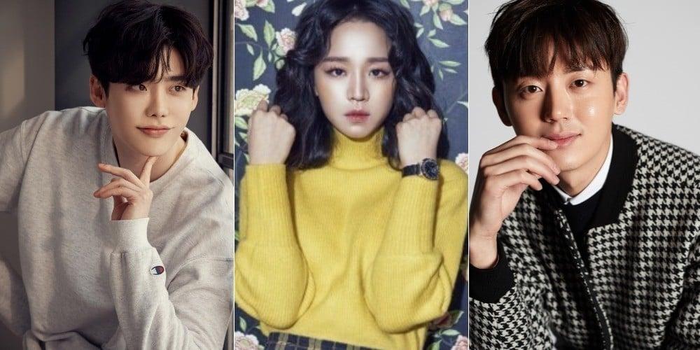 Lee Jong Suk, Lee Ji Hoon, Shin Hye Sun