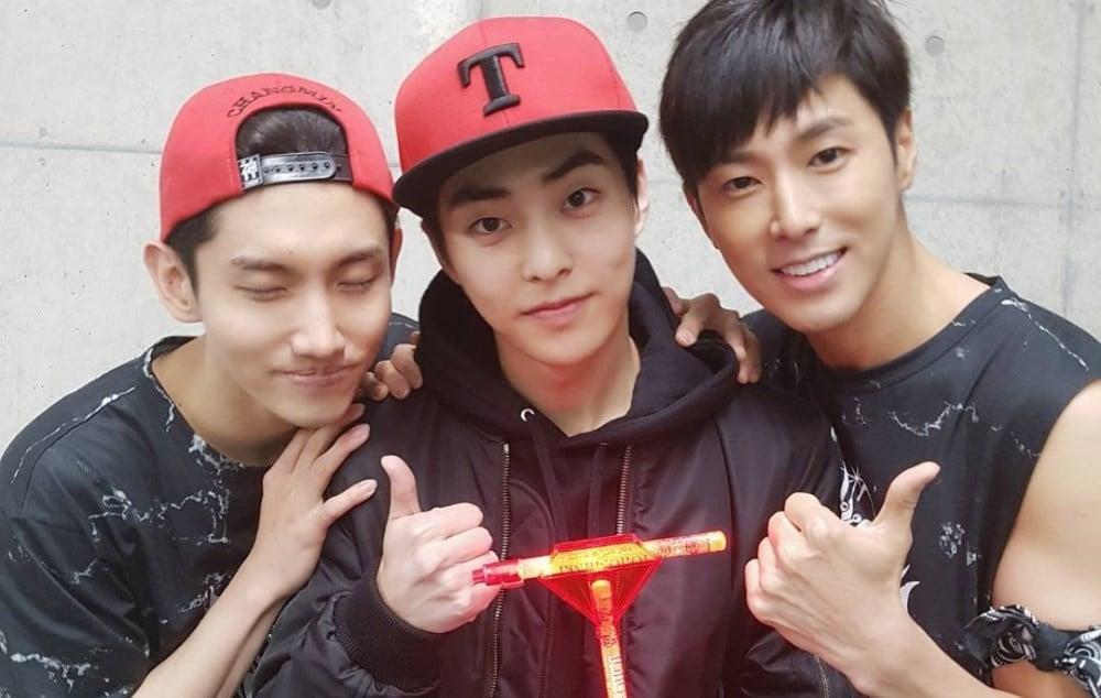 EXO,Xiumin,TVXQ