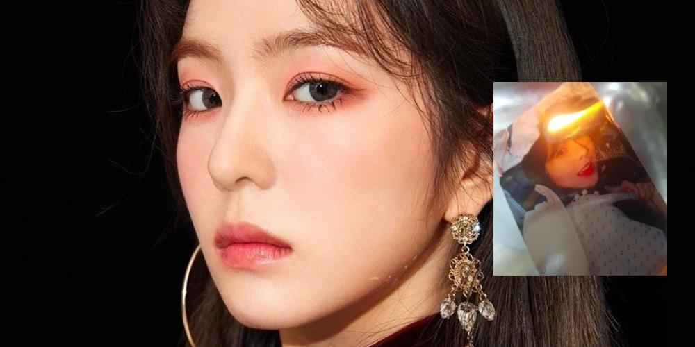 Male fans burn Red Velvet Irene's merchandise upon finding