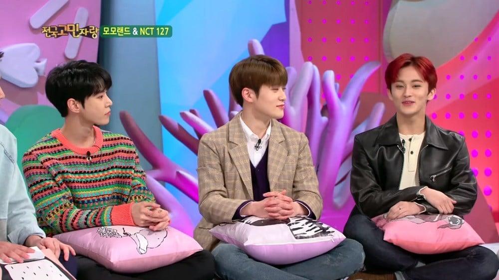 Jaehyun, Mark, Doyoung, Mark, Mark, Jaehyun, NCT