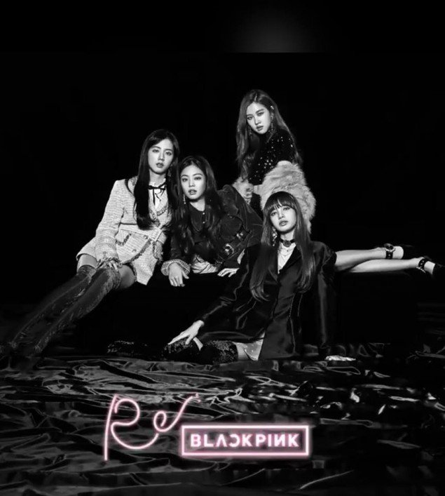 Blackpink Nghe Tải Album Blackpink: Black Pink Is Fierce In Black And White For Their Japanese