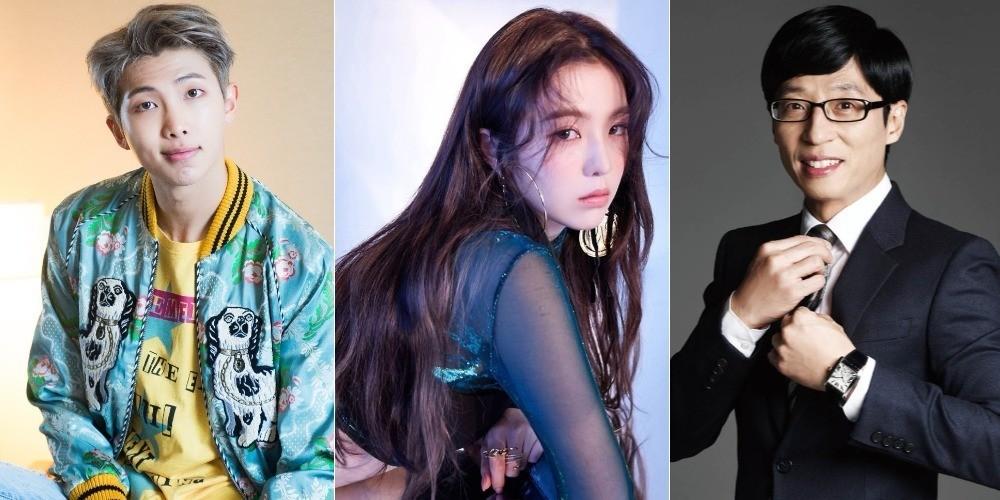 Yoo-Jae-Suk,rap-monster,irene