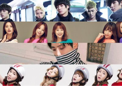 Sechskies,Jonghyun,EXID,Girls-Day,NUEST,Crayon-Pop,SHINee,Jonghyun,Girls-Generation,VIXX,yoon-jong-shin,ladies-code,han-dong-geun,g-friend,ioi