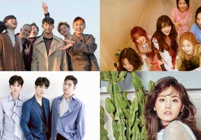 Tony-An,Jinwoon,Nana,BTOB,Kyung-Li,nuest-w,han-hye-jin,g-friend,sung-hoon,fromis,unb,lee-yi-kyung