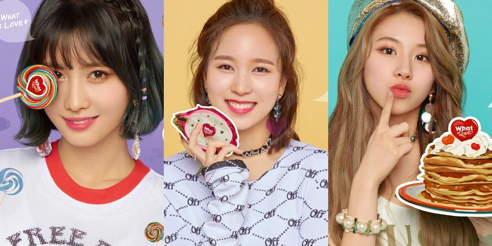 Mina, TWICE, Momo, Chaeyoung