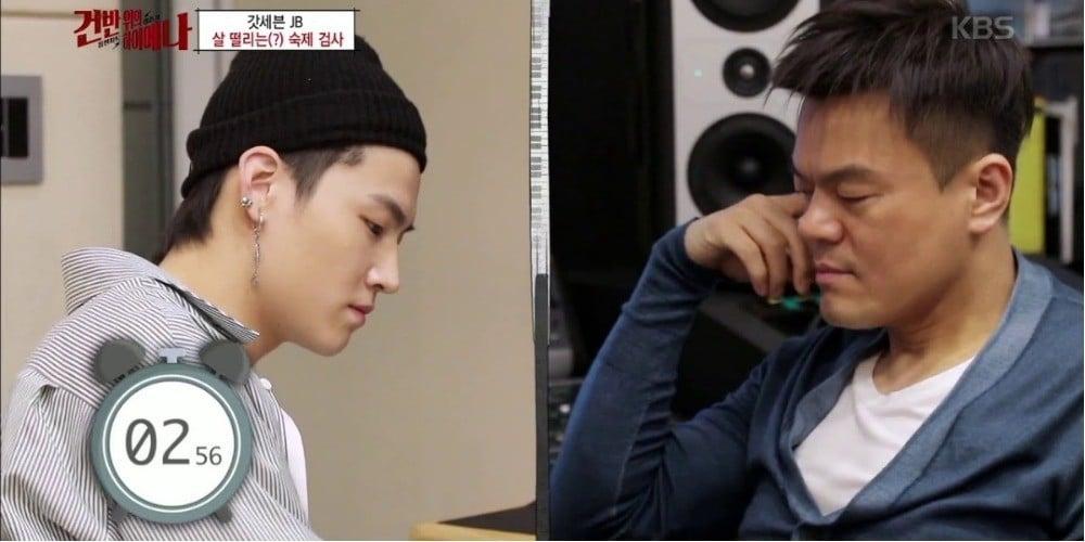 J.Y. Park, JB
