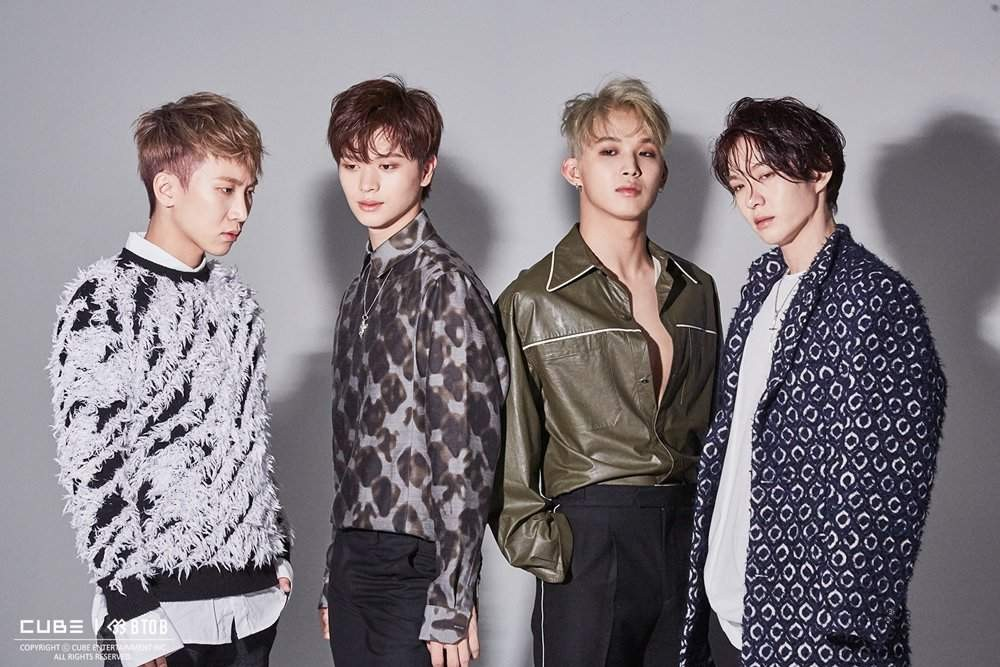 BTOB, Eunkwang, Hyunsik, Sungjae, Changsub