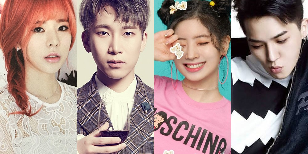 Kangta,BTOB,Eunkwang,Girls-Generation,Sunny,winner,song-min-ho,twice,dahyun