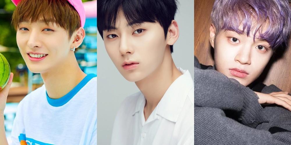 Minhyun,wanna-one,yoon-ji-sung,lee-dae-hwi,hwang-min-hyun