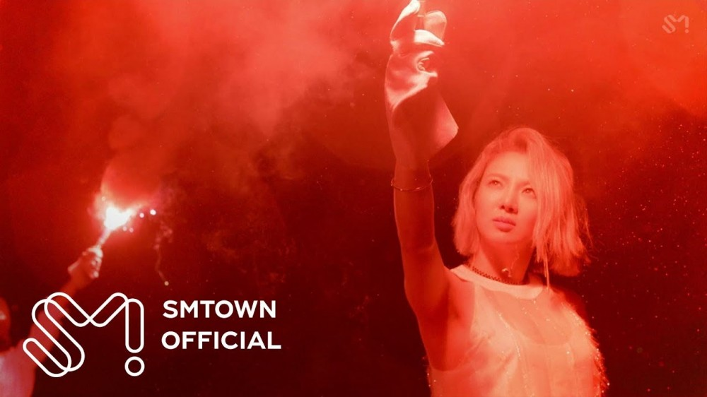 Image result for Hyoyeon lights a fire in 'Sober' feat. Ummet Ozcan MV!
