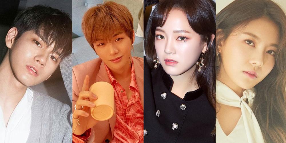 Kim Se Jung, Gugudan, Wanna One, Kang Daniel, Ong Seong Wu