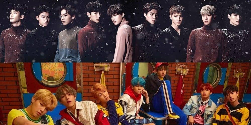 EXO, (Bangtan Boys) BTS