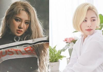 Hyoyeon,whee-in