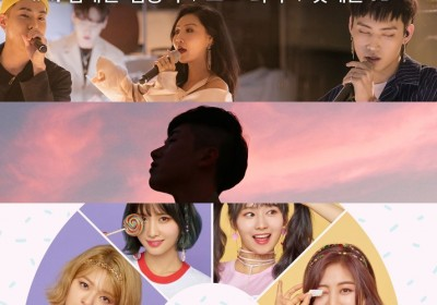 park-hyo-shin,hwa-sa,crush,loco,ikon,g-friend,twice,melomance,sik-k
