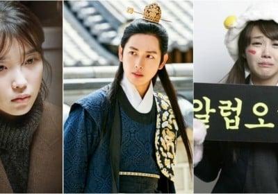 Eunji,Hyeri,Eunji,Siwan,IU,Lee-Seung-Gi,Seo-In-Guk