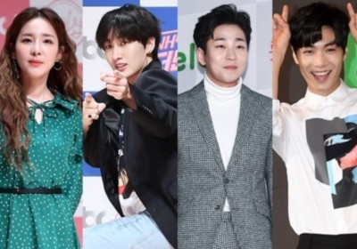 god,Park-Joon-Hyung,2NE1,Dara,NUEST,JR,Super-Junior,Eunhyuk,dindin
