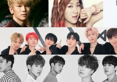 Boyfriend,Soyu,KWill,monsta-x,jung-se-woon