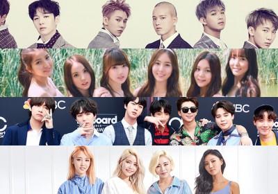 B1A4,BAP,Big-Bang,Block-B,BTOB,INFINITE,NUEST,SHINee,TVXQ,VIXX,bts,winner,got7,mamamoo,ikon,lovelyz,g-friend,pentagon,black-pink,kard,golden-child,highlight