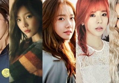 Girls-Generation,Taeyeon,Yuri,YoonA,Hyoyeon,Sunny