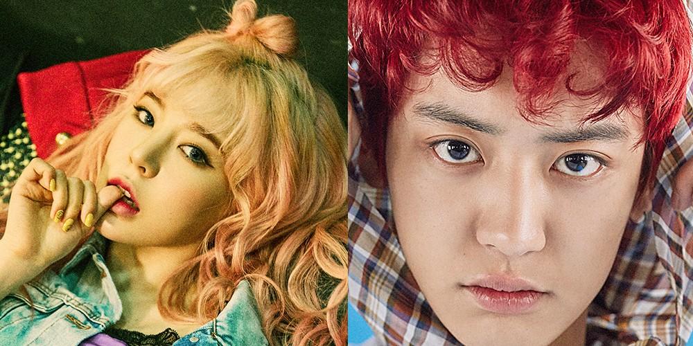 Chanyeol,Sunny,jung-joon-young,park-myung-soo,park-na-rae