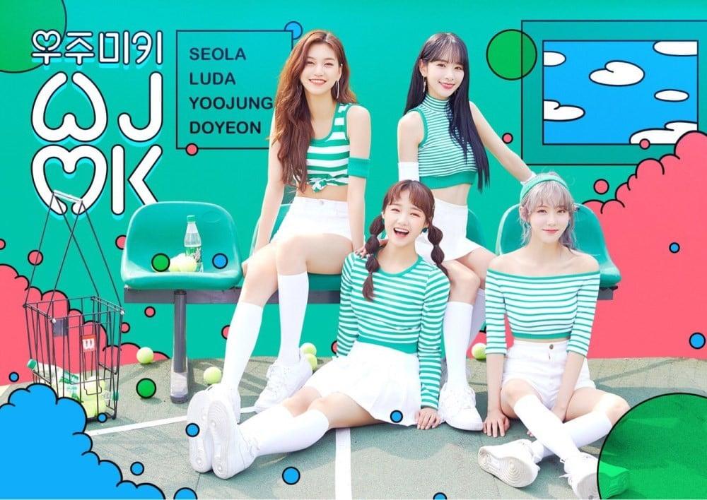 Cosmic Girls, Luda, Seola, Weki Meki, Choi Yoo Jung, Kim Do Yeon