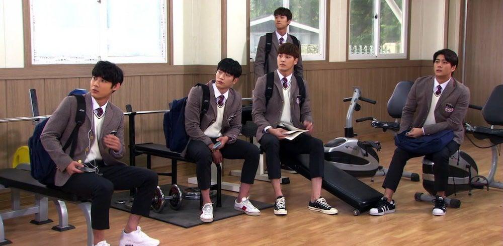 5urprise, Lee Tae Hwan, Gong Myung, Kang Tae Oh, Seo Kang Jun