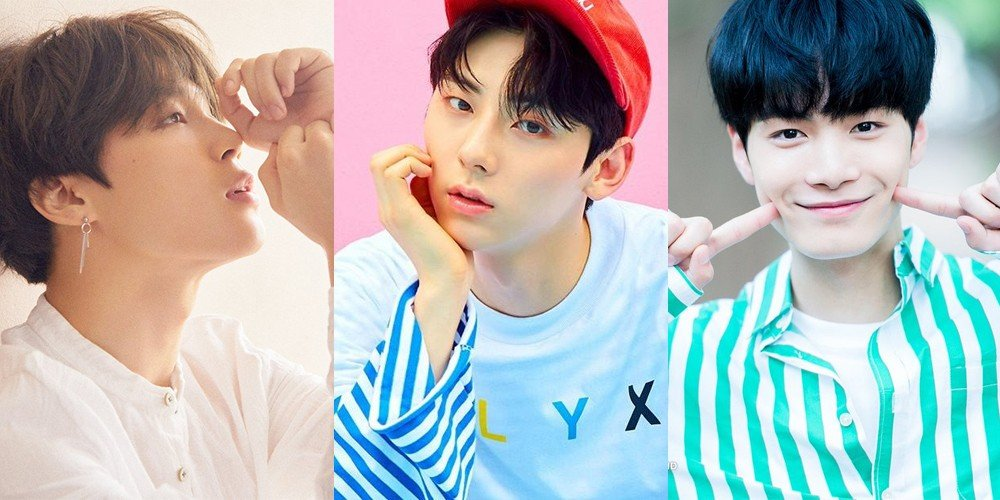 Jimin,NUEST,JR,Minhyun,bts,wanna-one